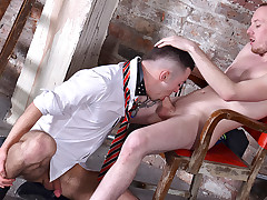 Providing The Obedient Stud What He Needs - Michael Wyatt & Sean Taylor