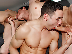 Muscle Boy Jake Gets Bought - Jake Kelvin, Sean McKenzie And Reece Bentley